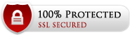 This site is 100% secure with SSL security certificate.