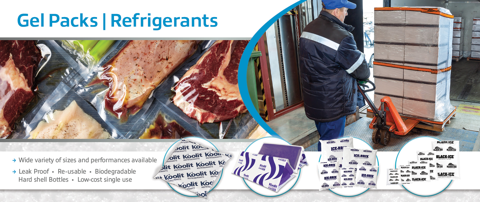 Gel Packs and Refrigerant Bricks
